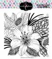 Colorado Craft Company Clear Stamps - Big & Bold~Daylily & Barberry