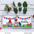 Bild 6 von Whimsy Stamps Clear Stamps  - Gnome Birthdays -  Gnomengeburtstage