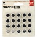 Basic Grey Magnetic Discs Magnete