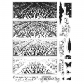 Hero Arts Color Layering HeroScapes Clear Stamps - Lavender Field