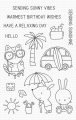 My Favorite Things - Clear Stamps Sunny Vibes - Sommerurlaub