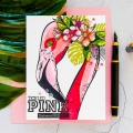 Bild 5 von Colorado Craft Company Clear Stamps - Big & Bold~Tickled Pink Flamingo