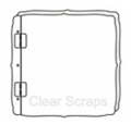 Clear Scraps Acrylic Album Top Load