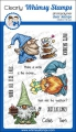 Bild 1 von Whimsy Stamps Clear Stamps  - Gnome Birthdays -  Gnomengeburtstage