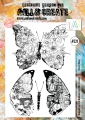 AALL & Create Clear Stamps  - Floral Wings
