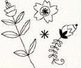 studio g Clearstamps Blumen 11