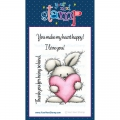 Your Next Stamp Clear Stamp Happy Heart