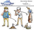 The Card Hut Clear Stamps - Golfer's birdie - Stamp Set
