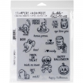 Tim Holtz Stempelgummis Scared Silly