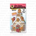 Art Impressions Clear Stamps with dies Gingerbread Cubbies - Stempelset inkl. Stanzen