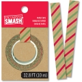 SMASH Paper Tape Holiday Stripe