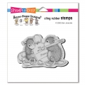Stampendous Cling Stamps Mouse Tag Rubber Stamp - House Mouse Gummistempel