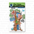 Art Impressions Clear Stamps with dies Woodland Tree Cubbies - Stempelset inkl. Stanzen