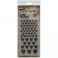 Tim Holtz Collection Schablone Layering Stencil Hearts