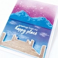 Bild 3 von Hero Arts Color Layering Clear Stamps - Mountains At The Lake