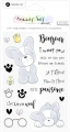Hampton Art Stamp clear stamps - tracey hey - Frenchie