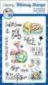 Whimsy Stamps Clear Stamps  - Ahoy, Matey