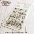 the GREETING farm Clear Stamps  - Be Kind