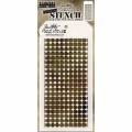 Tim Holtz Collection Schablone Layering Stencil  Grid Dot