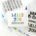Bild 2 von Heffy Doodle Clear Stamps Set -  Everyday Sentiment Duos - Stempel Texte