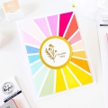Bild 8 von Pinkfresh Studio Cling Rubberstamp - Pop Out: Sunburst Cling Stamp set - Stempelgummi