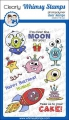Whimsy Stamps Clear Stamps - Over the Moon