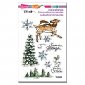 Stampendous Perfectly Clear Stamps - Woodland Deer - Reh