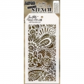 Tim Holtz Collection Schablone Layering Stencil - Doodle Art 1 -Layered