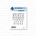 Art Impressions Stamp Set - Small Alphabet Set