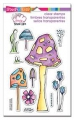 Stampendous Perfectly Clear Stamps - Mushrooms - Pilze