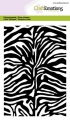 CraftEmotions Stempel - clearstamps A6 - Tiger-Zebra-Druck