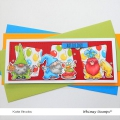 Bild 2 von Whimsy Stamps Clear Stamps  - Gnome Birthdays -  Gnomengeburtstage