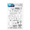 Simon Hurley create Photopolymer Clear Stamps Bestest Friends - Clear Stamps Beste Freunde