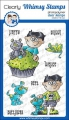 Whimsy Stamps Clear Stamps  - Goth Doll Boy - Goth Junge