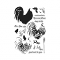 Hero Arts Clear Stamps Color Layering Rooster