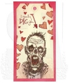 Bild 3 von The Art of Brett Weldele Cling Mount Stamps Gummistempel - Zombie Casanova