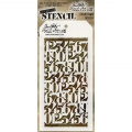 Tim Holtz Collection Schablone Layering Stencil Countdown