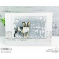 Bild 3 von Gummistempel Stamping Bella Cling Stamp STAFFIE AND ENGLISH BULL TERRIER RUBBER STAMPS