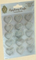 Epiphany Shape Studio Acrylsticker für Stickerlocher Bubble Caps Heart 25