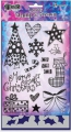 Dylusions Clear Stamps & Stencil Holiday