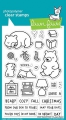 Lawn Fawn Clear Stamps - Den Sweet Den