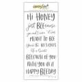 Honey Bee Stamps Clearstamp - Hi Honey - Textstempel