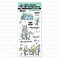 Art Impressions Clear Stamps Penguin Cheer Set - Weihnachtspinguine