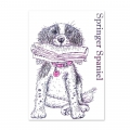 Bild 2 von For the love of...Stamps by Hunkydory - It's a Dog's Life Clear Stamp - Springer Spaniel