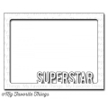 Stanzschablone Die-namics Superstar Photo Card Frame