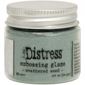 Tim Holtz Distress Embossing Glaze -Embossingpulver -  Weathered Wood