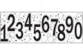 Fiskars Continuous Stamp Fortlaufender Stempel Numbers