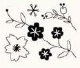 studio g Clearstamps Blumen 8