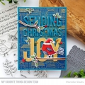 Bild 4 von My Favorite Things - Clear Stamps Christmas Cardinals - Vögel