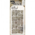 Tim Holtz Collection Schablone Layering Stencil Thatched
